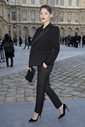 Gemma Arterton - Louis Vuitton F/W 2014-2015 Fashion Show in Paris 3/5/14