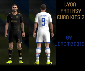 Download Olympique Lyonnais Fantasy Kits 2 by jeremz0310