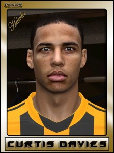 Download PES 2014 Curtis Davies Face by Hawke