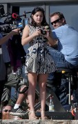 Ariel Winter - Shooting Modern Family 3/19/14