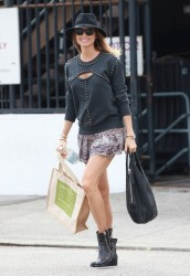 Stacy Keibler - Shopping in LA 3/25/14