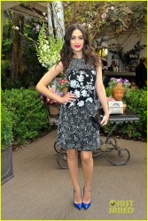 Emmy Rossum - Christian Louboutin Passage handbag collection launch party in LA 3/25/14