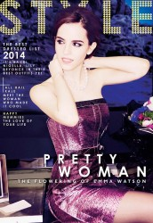 Emma Watson in The Sunday Times Style Magazine - March 2014