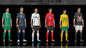 Download PES 2014 CD Mirandés 2013-14 GDB Kits by Txak