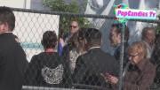 Leaving Film Independent Spirit Awards in Santa Monica (February 23) E469aa319327944