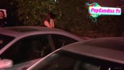 Nina & Derek Hough Holding hands while hiding from Paparazzi at The Roosevelt LA (October 5) A3d92e319508221