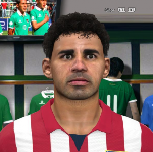 Download PES 2014 Diego Costa Face by Liga Boliviana