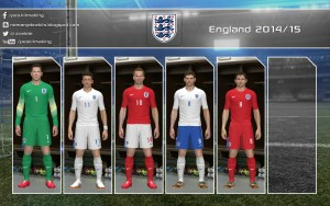Download PES 2014 England 2014-15 GDB by Nemanja