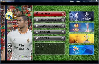 Download [MES] Pro Evolution Soccer Portugal Graphic Mod 2014