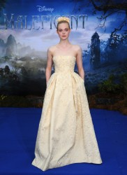 Elle Fanning - 'Maleficent' Costume and Props Reception in London 5/8/14