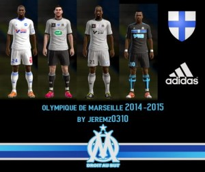 Download PES 2013 Olympique Marseille 14-15 Kits by JEREMZ0310