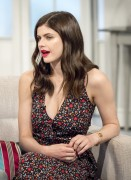 Alexandra Daddario -   ''Lorraine'' Show London June 1st 2017.