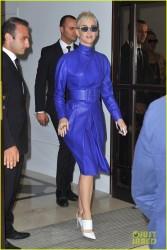 Katy Perry - Leaving her hotel in Paris 6/2/17