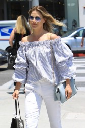 Ali Larter - Shopping in Beverly Hills 6/2/17