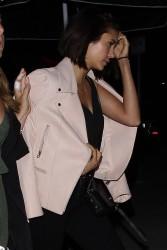 Nina Dobrev - Out for dinner in LA 6/29/17