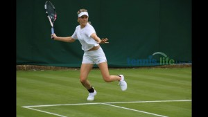 Genie Bouchard - at Wimbledon - 07/01/2017