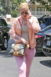Iggy Azalea - Arriving at a studio in LA 7/1/17