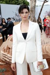 Gemma Arterton - Christian Dior F/W 18 Fashion Show in Paris 7/3/17