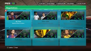 PES 2018 Graphic Menu PES 2017