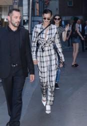 Bella Hadid - Leaving the Fendi Fashion Show in Paris 7/5/17